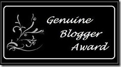 genuine_blogger award