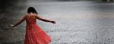 Dance, dance under therain!