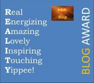 Reality Blogger Award 2012
