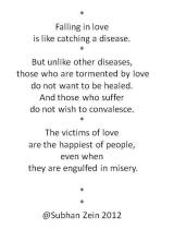 Falling in Love is Like Catching a Disease